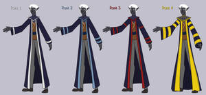 RC: Blue Willow Priory Uniforms