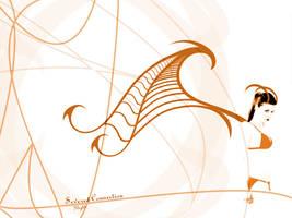 SC Flight- Orange by severedconnection
