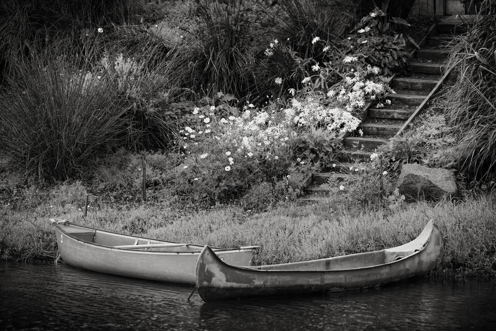 Canoe Landing by clippercarrillo