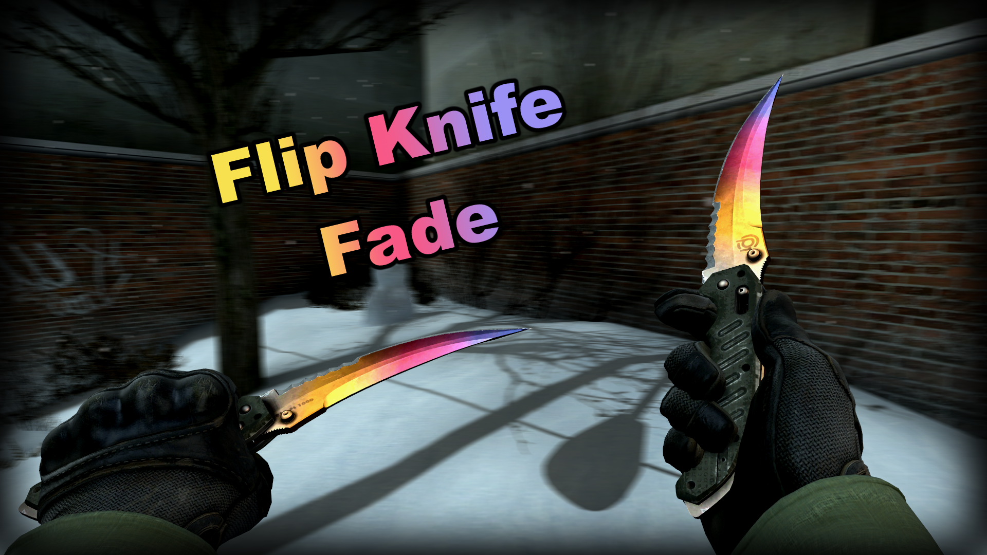 Flip Knife Fade 1 by krisser143 on DeviantArt