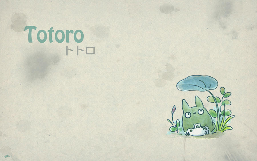 Totoro HD Wallpaper , Wallpaper Totoro
