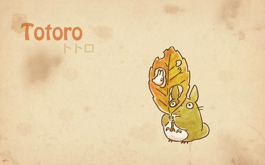Totoro Wallpaper 6 by Kookookchoo on DeviantArt