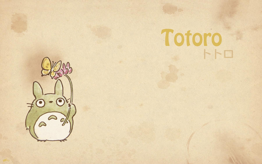 Totoro Wallpaper 7 by Kookookchoo on DeviantArt