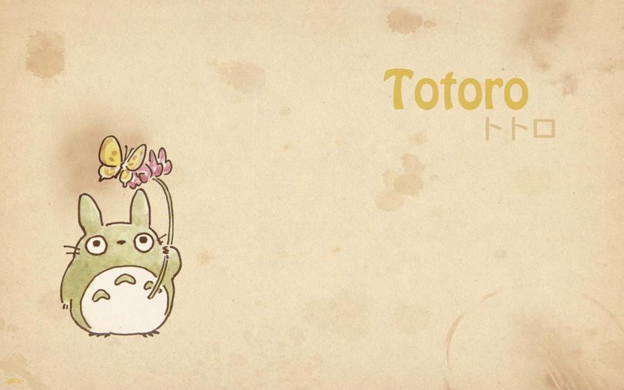 Totoro - Wallpaper 7 by Kookookchoo