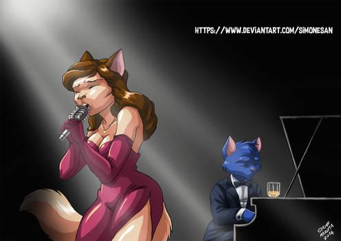 CAT SINGER OF THE NIGHT