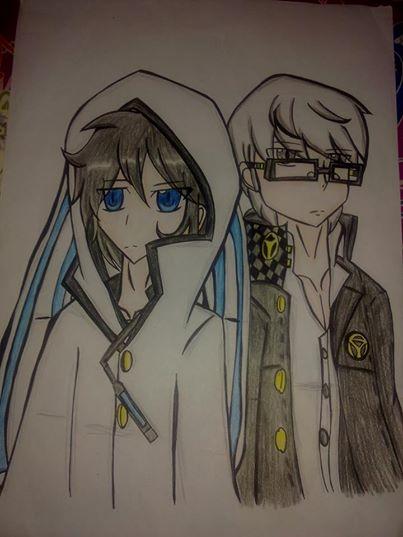 Shin megami tensei:hibiki and yu by Ninjasonic-love-Misa