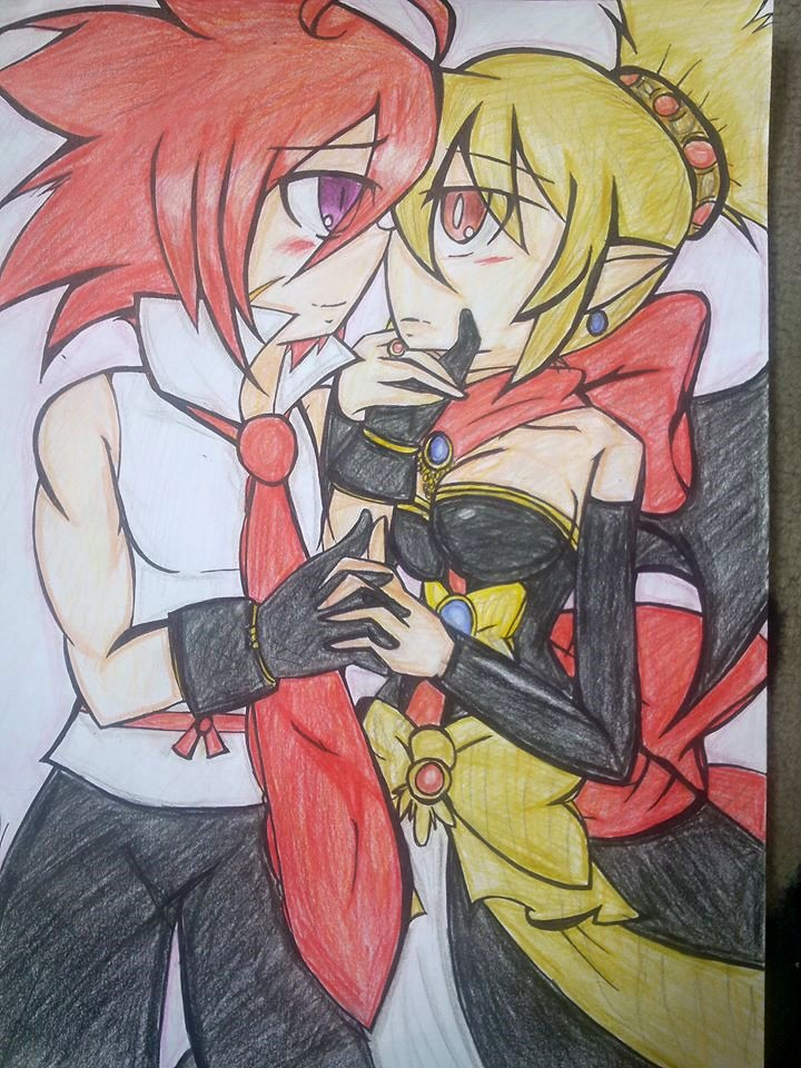 -Disgaea 2- Adell and Rozalin by Ninjasonic-love-Misa