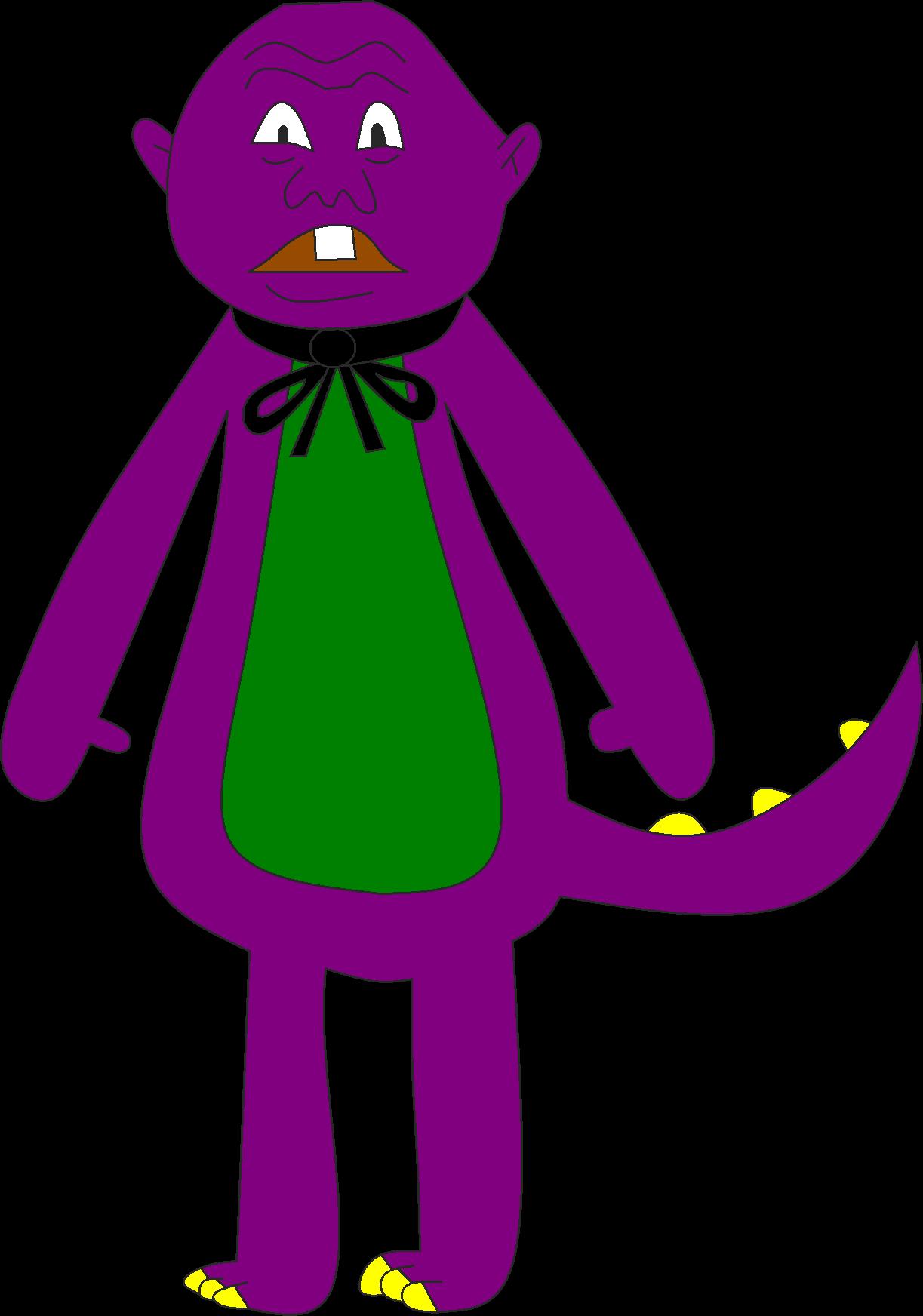 barney the pinhead dinosaur by sonic4hire on deviantart