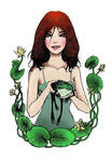She and the Frog by blankaizabela