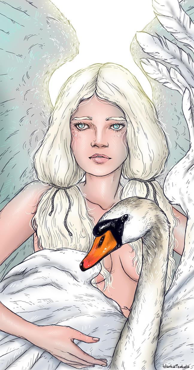 The swan princess by blankaizabela