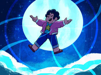 Movie Steven ScreenShot Redraw- Steven Universe by ZeroZeroSenpai