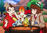 Pokemon curry time