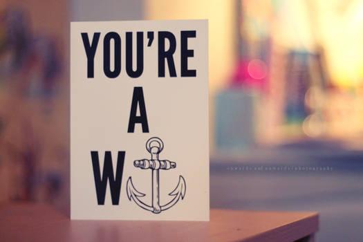W anchor