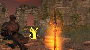 A new day in the Firelink Shrine - MMD Dark Souls