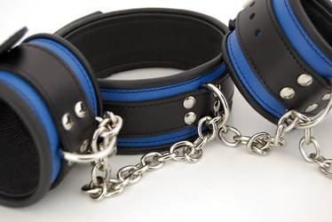 Blue bondage set by Me-Se