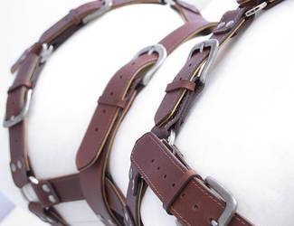 Brown/beige harness by Me-Se