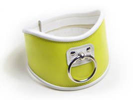 Lemon yellow posture collar by Me-Se