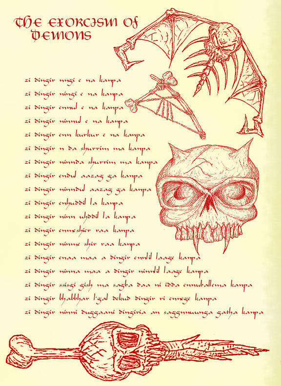 necronomicon page4 by menzo