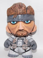 Solid Snake Munny by skylineBARR