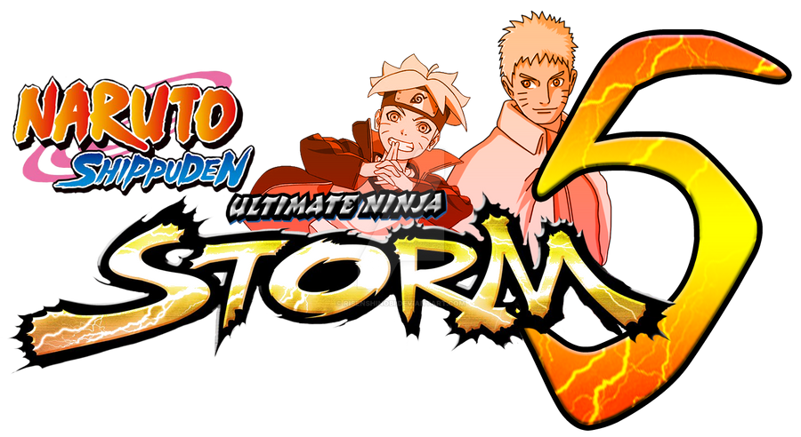 Naruto Shippuden Ultimate Ninja Storm 5 LOGO by RisenShinobi on