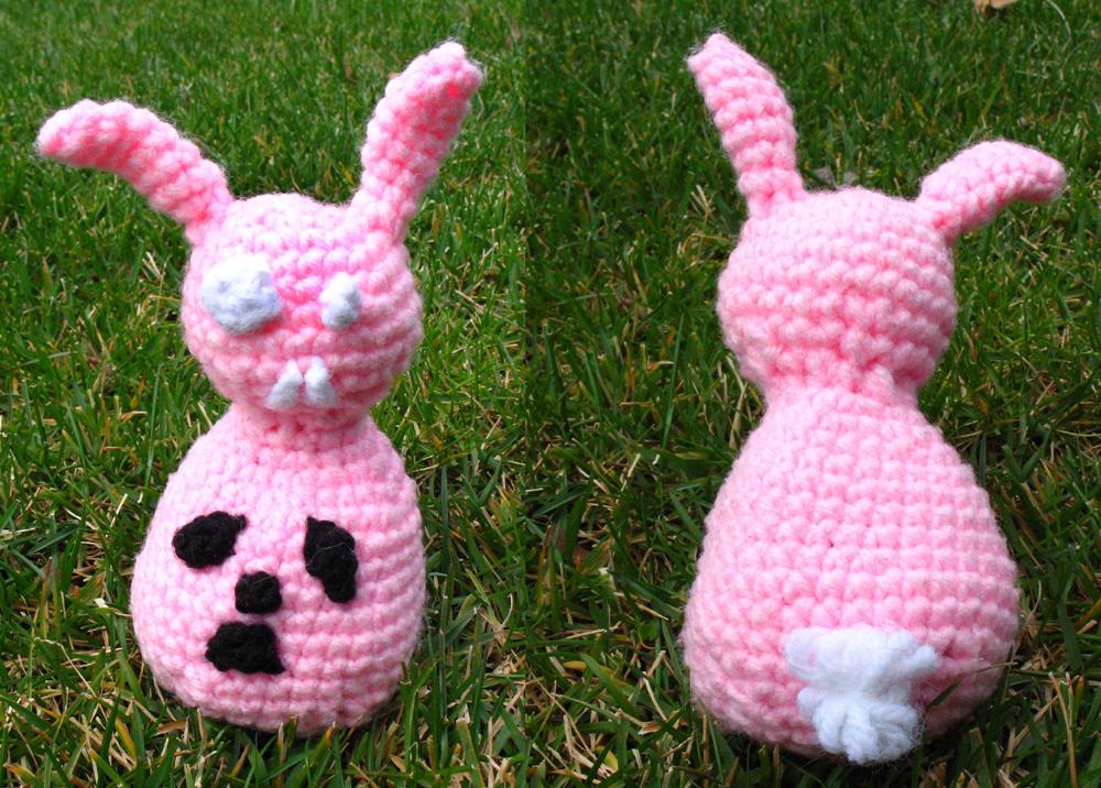 Biohazard Bunny Plushie by fadetag