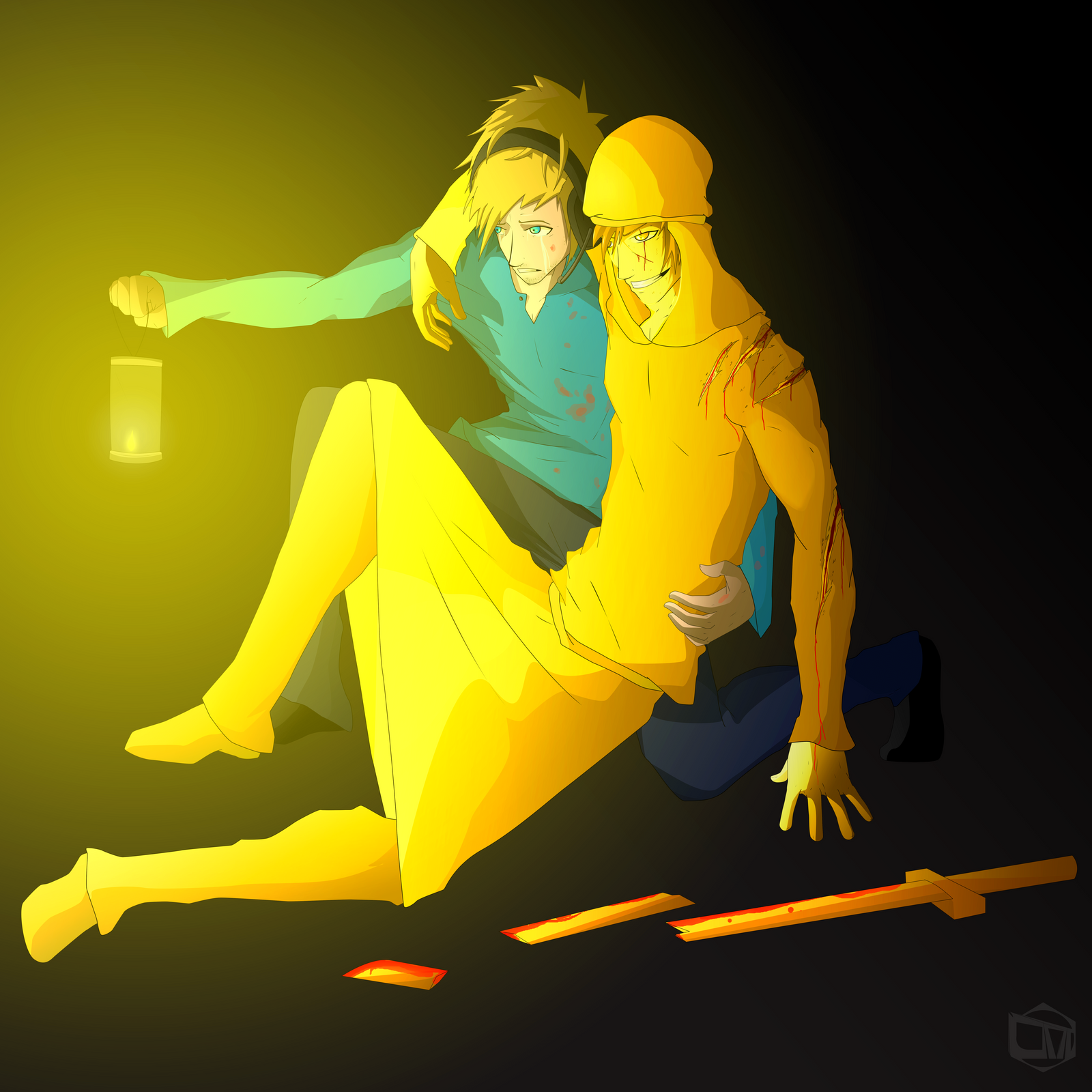Pewdiepie and Stephano : Bros To The End by CyBSamurai on ...
