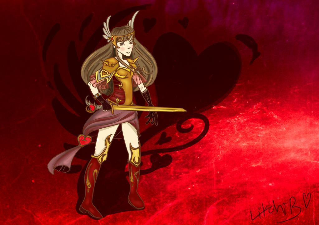 Cupidon Warrior by LitchiBeta
