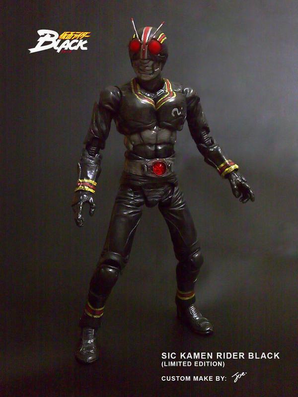 SIC KAMEN RIDER BLACK 01 by wongjoe82