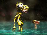 Froggy Man by wongjoe82