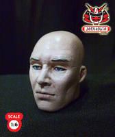 1.6 Head Sculpture Hitman 47 by wongjoe82