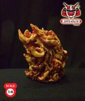 1.6 Head Sculpture ghostrider4 by wongjoe82