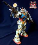 Bandai GUNDAM MG RX-78-2 Ver. ONE YEAR WAR 0079_06