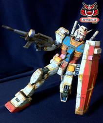 Bandai GUNDAM MG RX-78-2 Ver. ONE YEAR WAR 0079_07 by wongjoe82