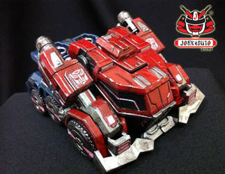 Transformers FOC : Optimus Prime Repaint 01 by wongjoe82