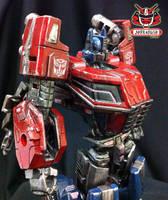 Transformers FOC : Optimus Prime Repaint 05 by wongjoe82