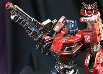 Transformers FOC : Optimus Prime Repaint 06 by wongjoe82
