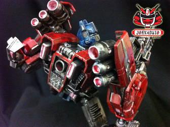 Transformers FOC : Optimus Prime Repaint 08 by wongjoe82