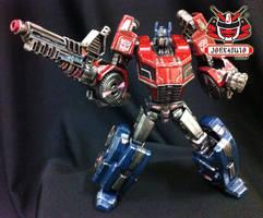 Transformers FOC : Optimus Prime Repaint 09