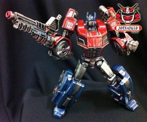 Transformers FOC : Optimus Prime Repaint 09 by wongjoe82