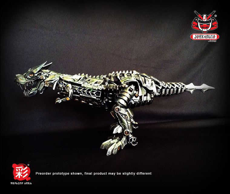 TRANSFORMERS AOE LEADER GRIMLOCK REPAINT MP 01 by wongjoe82