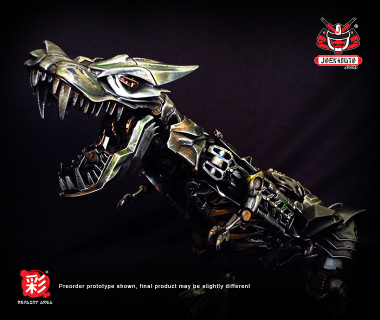 TRANSFORMERS AOE LEADER GRIMLOCK REPAINT MP  02 by wongjoe82