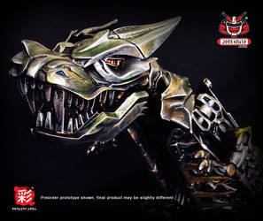 TRANSFORMERS AOE LEADER GRIMLOCK REPAINT MP 03