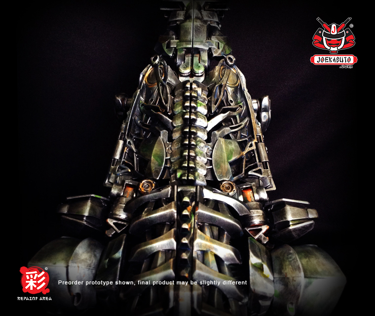 TRANSFORMERS AOE LEADER GRIMLOCK REPAINT MP 04 by wongjoe82