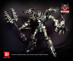 TRANSFORMERS AOE LEADER GRIMLOCK REPAINT MP 05