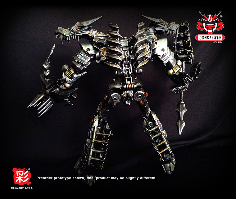 TRANSFORMERS AOE LEADER GRIMLOCK REPAINT MP 06 by wongjoe82