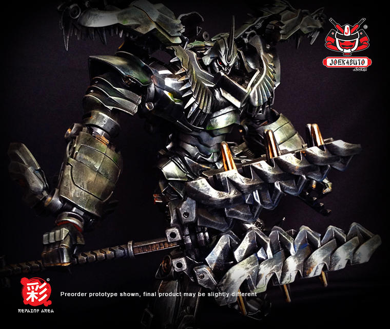 TRANSFORMERS AOE LEADER GRIMLOCK REPAINT MP 07