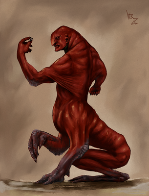 Red Monster by vitorzago
