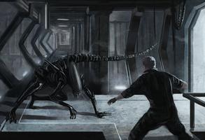 Alien by vitorzago