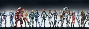 Mass Effect Stars - Fem sheppard version