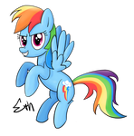 Rainbow Dash - Rainbow Dash Day!